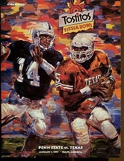 1997 Fiesta Bowl Program Texas Longhorns v Penn State 1/1 41925cfb1