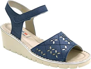 4f6daeb0 CALLAGHAN Sandalias con CUÑA Y Velcro NO PESAN 11115