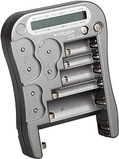 Wuqiong Bot/ón BT-168D Digital Tester Comprobador de bater/ía del Volt 9V 1.5V Pila Recargable AA AAA C D Prueba de bater/ía Universal