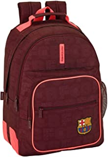 Safta Mochila Escolar F.C. Barcelona 3ª Equip 17/18 Oficial 320x150x420mm, 42 cm, Granate
