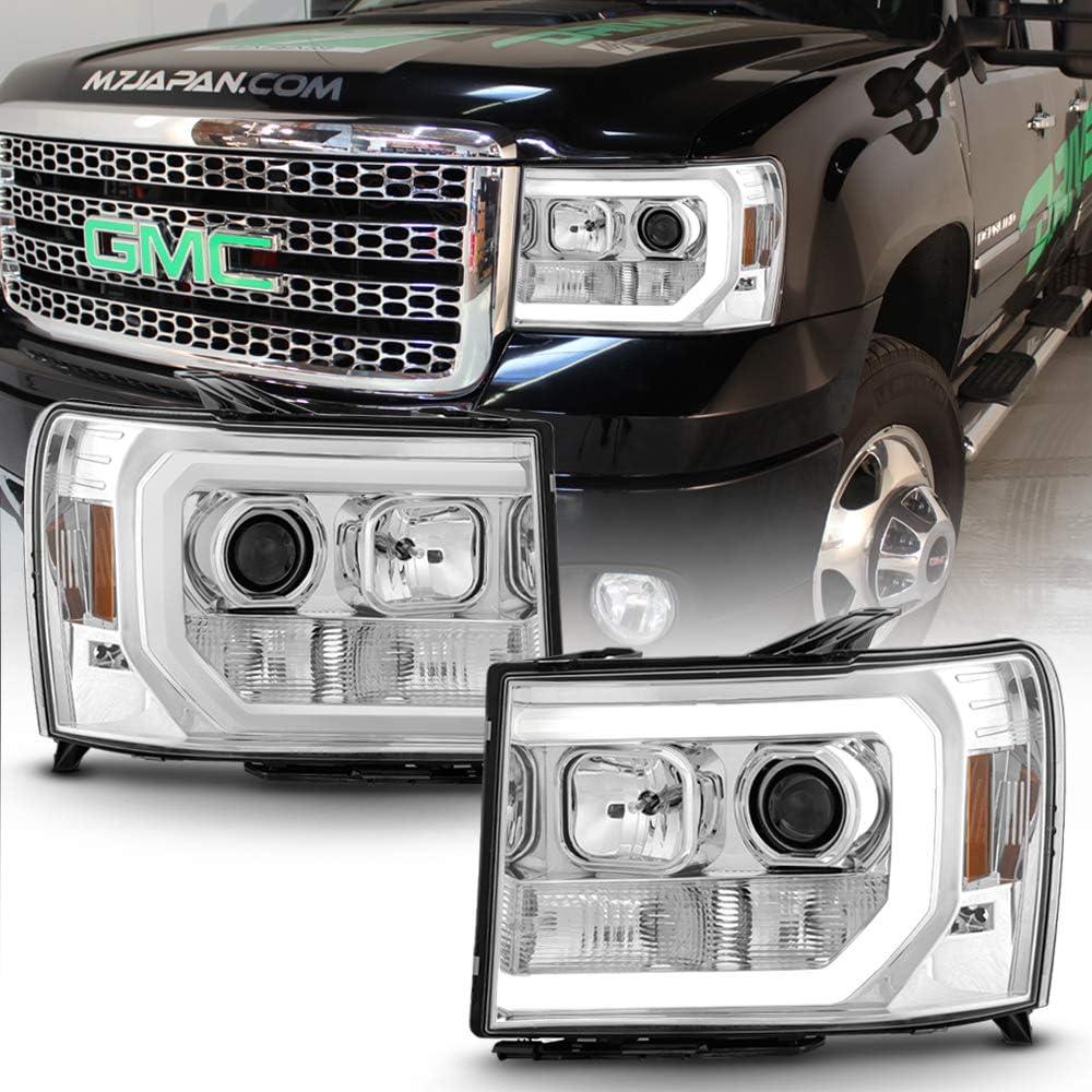 ACANII - 25% OFF Luxury goods For 2007-2013 GMC Sierra Tube 2500 LED 3500 1500 Style
