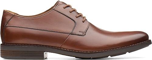 Clarks Collection Chaussures de Ville à Lacets pour Homme Homme Homme Marron Marron 7f1