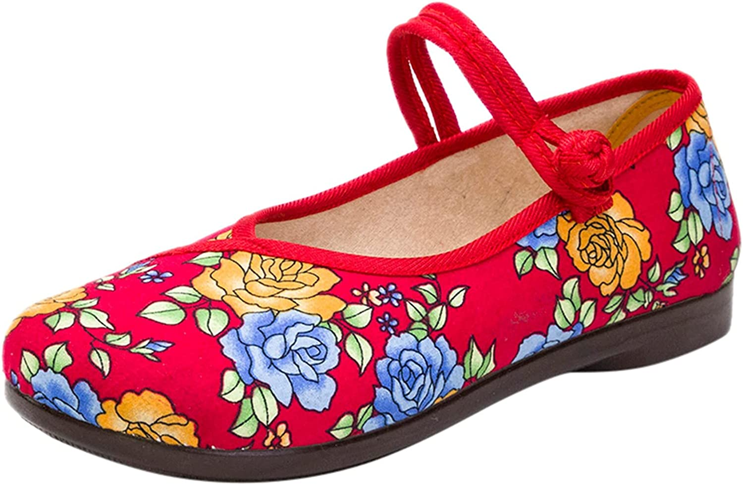 Women Single Shoes Lazy Peas Shoes Casual Slip-On Wedges Round T