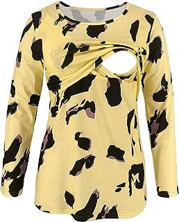 GoFuture Damen Umstandsnachthemd Stillnachthemd 3in1 Cosy GF2353