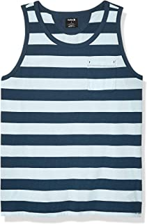 Hurley Men's Dri-fit Harvey Stripe Tank Top