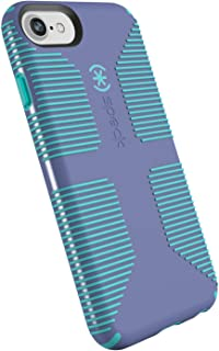 Speck Products CandyShell Grip iPhone SE 2020 Case/iPhone 8/7/6S/6 - Wisteria Purple/Mykonos Blue