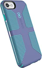 Speck Products CandyShell Grip Cell Phone Case for iPhone 8/7/6S/6 - Wisteria Purple/Mykonos Blue