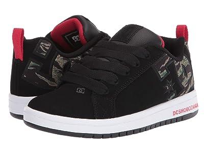 DC Kids Court Graffik (Little Kid/Big Kid) (Camo) Boys Shoes