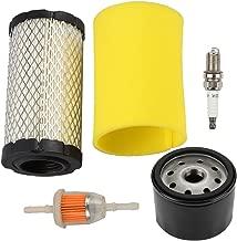 Harbot LA125 Air Filter Tune Up Maintenance Service Kit for John Deere LA115 D100 D110 D120 L100 E110 Lawn Tractor