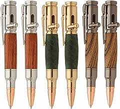 Penn State Industries PKBAPAK2 Mini Bolt Action Ballpoint Pen Kit Variety Pack Woodturning Project (6pack)