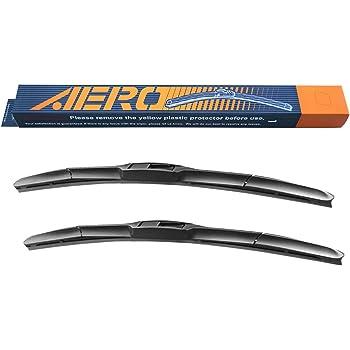 "AERO Hybrid 24"" + 18"" Premium Quality All-Season Windshield Wiper Blades (Set of 2)"