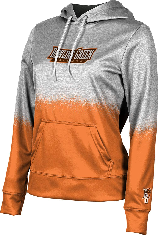 ProSphere Bowling Green State University Girls' Pullover Hoodie, School Spirit Sweatshirt (Spray Over)