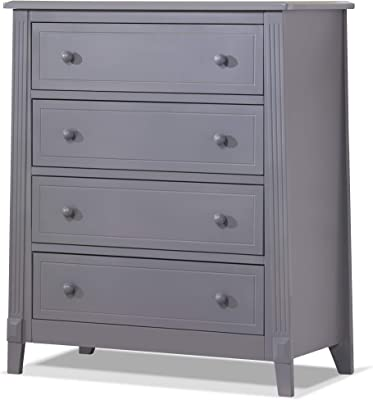 Sorelle Berkley 4 Drawer Chest, Gray