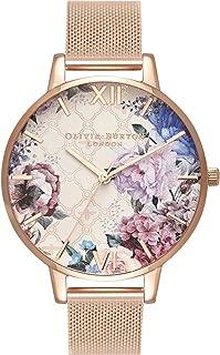 Olivia Burton Womens Analogue Quartz Watch with Stainless Steel Strap OB16EG86
