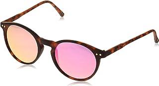 فوستر غرانت نظارة شمسية نسائية بإطار دائري 10235791.RSF نظارة شمسية نمط دائري للنساء - رمادي داكن، 47 ملم