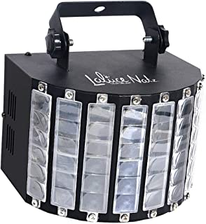 LaluceNatz DJ Lights with 30W Multicolor LED Beams by IR Remote and DMX Control for Disco..