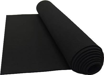 Neoprene Sponge Foam Rubber Sheet Roll - 15in x 60in (1/8in Thick)
