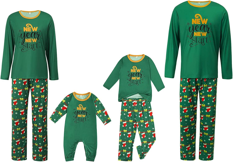 Christmas Family Arlington Mall Pajamas Matching Sets Long Socks Printed Sleev Financial sales sale