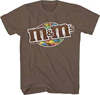 Candy Mars Chocolate M and M Adult Graphic Men's Tee T-Shirt