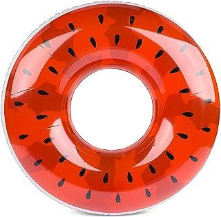 透きとおるスイカの浮き輪 大きい120cm大人用サイズ