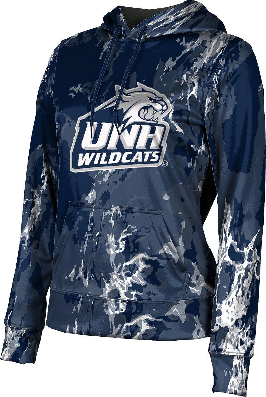 ProSphere University of New Hampshire Girls' Pullover Hoodie, School Spirit Sweatshirt (Marble)