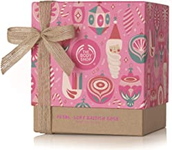 The Body Shop British Rose Gift Set, Enriched With Community Trade Roses handpicked In England, Includes Moisturizing British Rose Body Butter, 5Piece