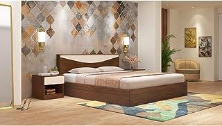 GODREJ INTERIO Engineered Wood Platform King Bed-(Matte_Brown)