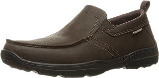 قياس مريح للرجال من سكيتشرز: هاربر - فورد حذاء سهل الارتداء بدون كعب