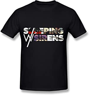 WunoD Men's Sleeping With Sirens Logo T-shirt