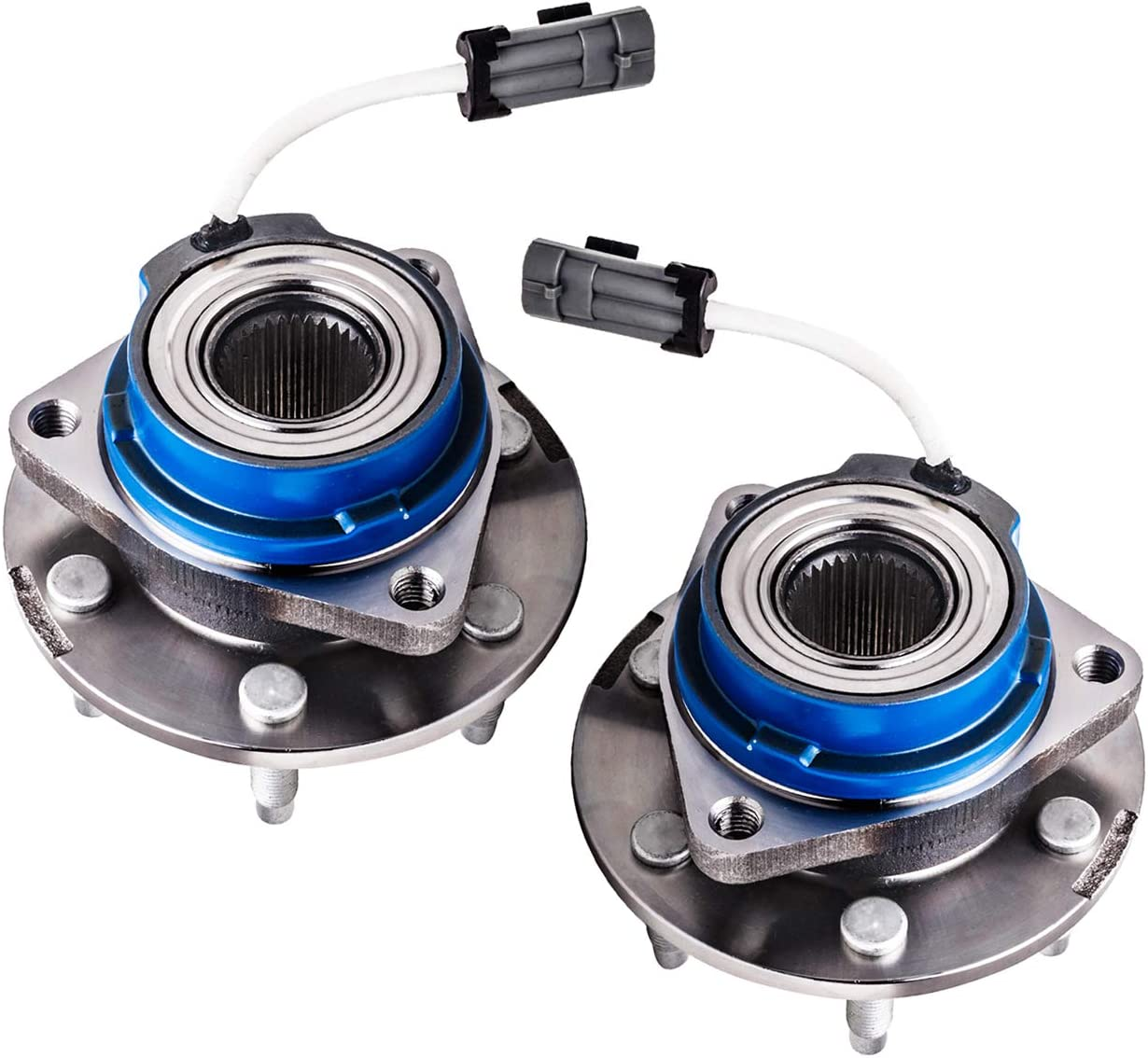 TUCAREST 513236 Front Wheel Bearing and Hub Assembly Compatible With 2006-2007 Buick Terraza Saturn Relay 2006-2009 Chevrolet Uplander Pontiac Montana 6-Stud Hub W//ABS