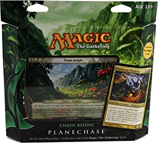 Magic the Gathering- MTG: Planechase (2012 Edition) Chaos Reigns - Game Pack