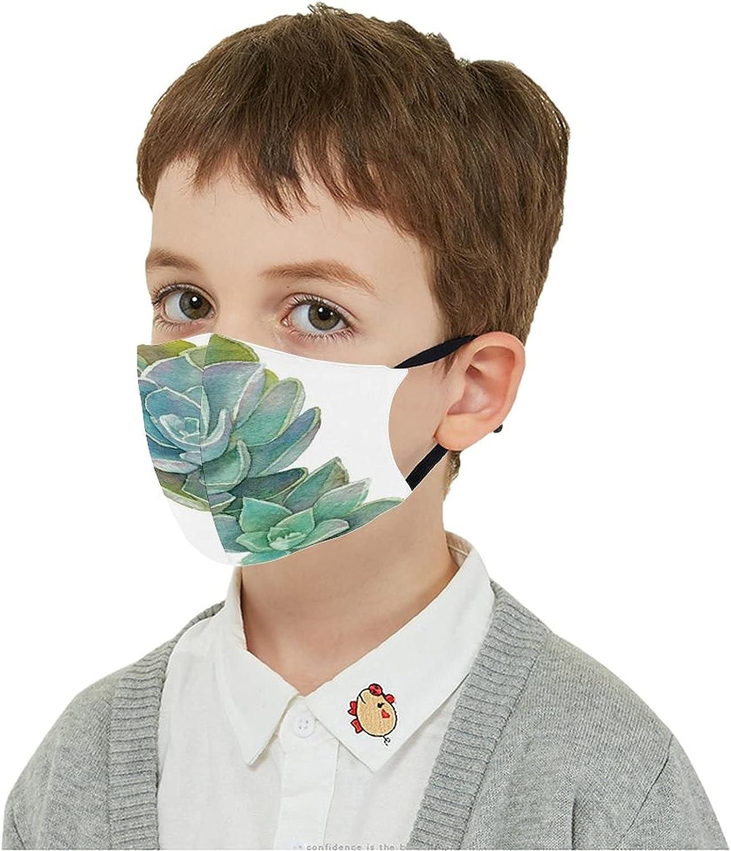 Bargain sale Children's Mouth Protection Dustproof Green Cover Cactus Nashville-Davidson Mall Succule