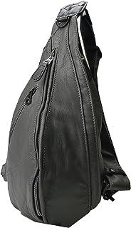 [ダブルス] イタリアンソフトレザー ボディバッグ 本革 メンズ ワンショルダーバッグ VDY-7090