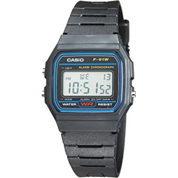 Casio F 91W 1YEF Standard Digital: : High tech  T4Z1k