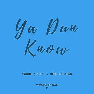 Ya Dun Know (feat. J Moe Da Bird)