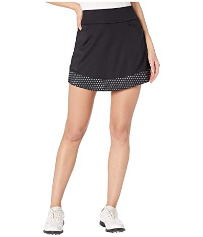 adidas Golf Ultimate365 Printed Knit Skort (Black) Women