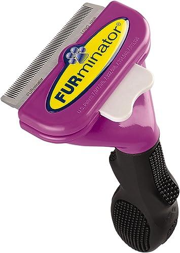 FURminator Deshedding Brush Comb Tool For Long Hair Large Cats