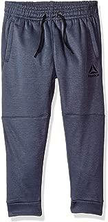 Reebok Boys' Spun Poly Fleece Delta Lifestyle Jog Pant