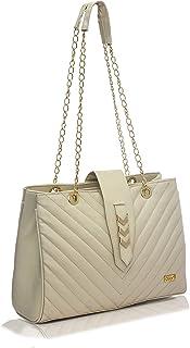 Dijon 24X33X12 CM Synthetic Leather Ladies Handbag/Shoulder Bag For Women   Purse For Girls Stylish Latest Design   Beauti...