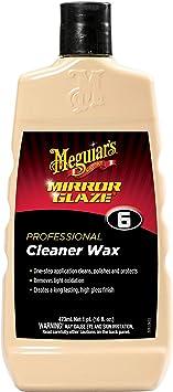 Meguiar's M0616 Mirror Glaze Cleaner Wax, 16 oz: image