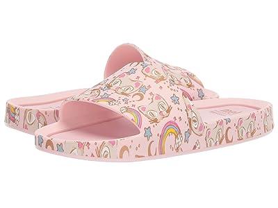 Mini Melissa Mel Beach Slide 3B II (Little Kid) (Light Pink) Girls Shoes