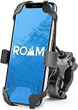 Roam Universal Premium Bike Phone Mount for Motorcycle - Bike Handlebars, Adjustable, Fits iPhone 11, X, XR, 8 | 8 Plus, 7 | 7 Plus, 6s Plus | Galaxy, S10, S9, S8, Holds Phones Up to 3.5