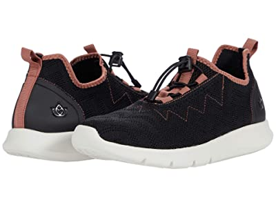 Spenco Chelsea Sneaker (Black/Rose) Women