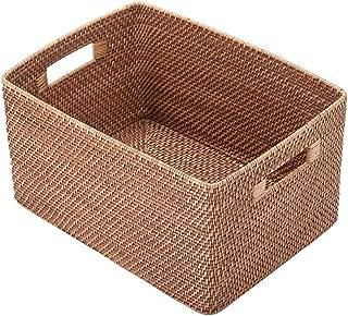 KOUBOO 1060010 Rattan Utility Basket, 17.2