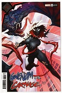 King In Black Gwenom vs Carnage #1 Ryan Brown Variant (Marvel, 2021) NM