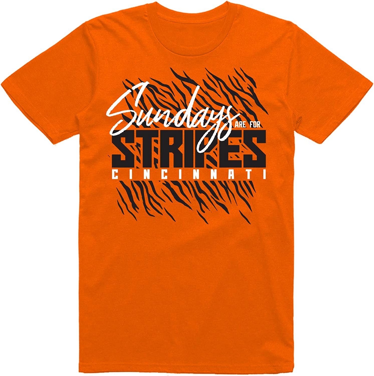 INKpressionists Sundays are for Football Limited price sale Stripes Cincinnati Max 73% OFF Fans
