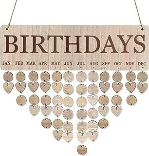 family birthday board diy