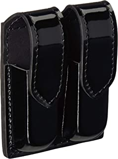 Safariland Duty Gear Glock 17 Hidden Snap Double Handgun Magazine Pouch (High Gloss Black)