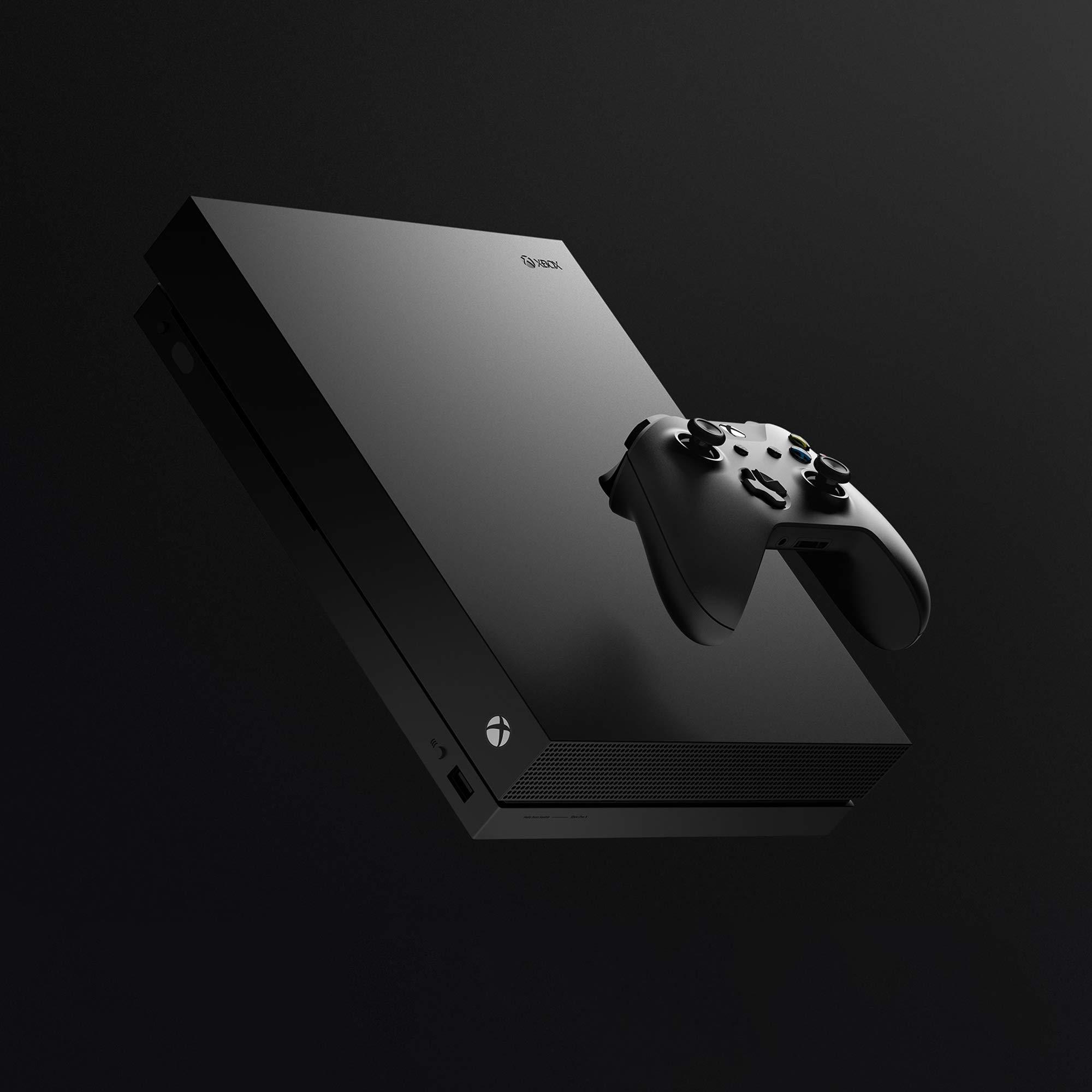 Microsoft Xbox One X - Consola 1TB 4K HDR Negro + Mando Inalámbrico, Color Negro Bluetooth: Amazon.es: Videojuegos