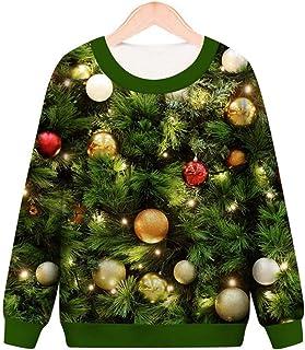 Pattrily Unisex Realistic 3D Paint Digital Print Pullover Hoodie Hooded Sweatshirt